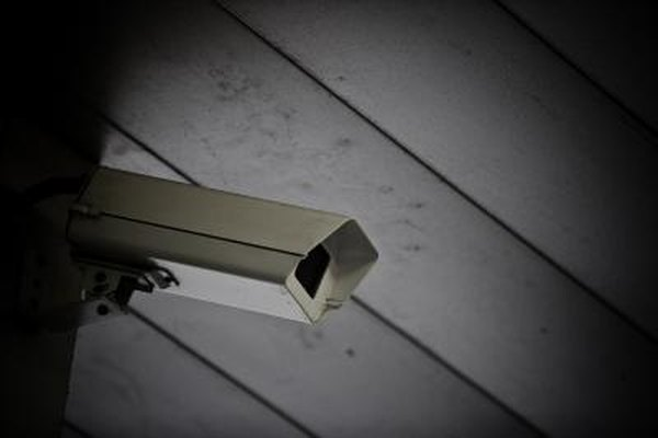 Helping you sleep at night: the security camera.