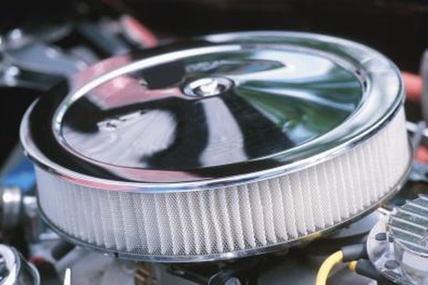 A clean air filter lets the engine breathe without restriction.