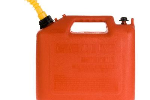 Fuel cans can be adapted for use as fuel tanks.