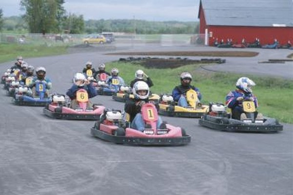 Professional kart racing is an advanced form of go-kart racing.