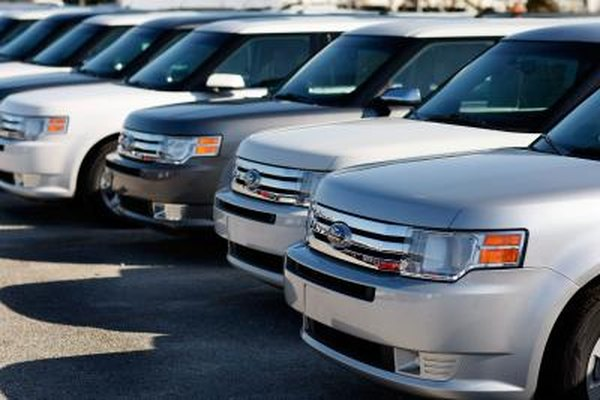 Ford Flex vehicles