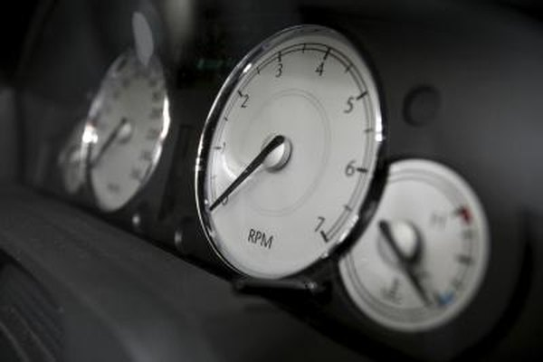 The temperature gauge can indicate when to check the engine and coolant level.