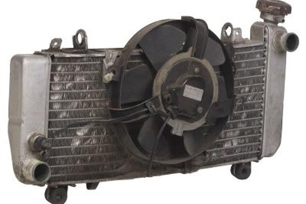 Electric radiator fans are commonplace on vehicles with engines in a transverse layout.