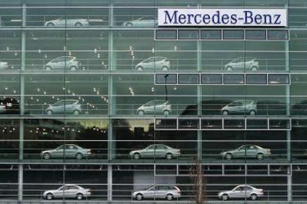 Mercedes-Benz headquarters in Germany
