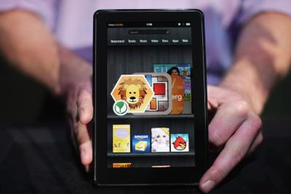 The Kindle Fire is produced by Amazon.
