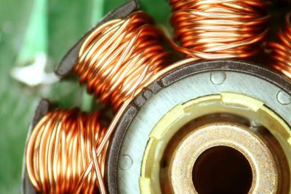 The stator's copper coils are easily damaged by a sudden electrical surge.