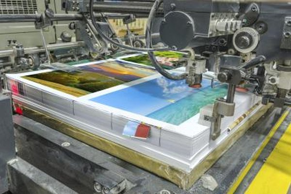 Professional printers require CMYK color files to print posters.