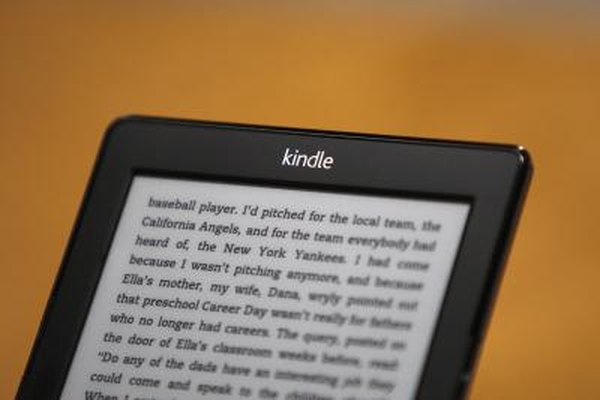 The Kindle can hold a library of books.