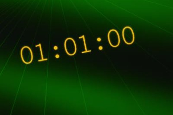 You may wish to use a countdown screen saver for notifying yourself it's time for the next task.
