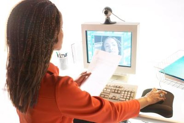 Webcams bring computer users from around the world together with video chat.