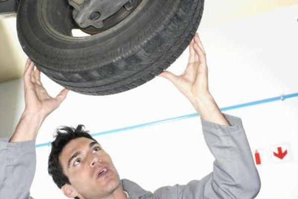 Bad shock absorbers can cause tire treads to deform or separate..
