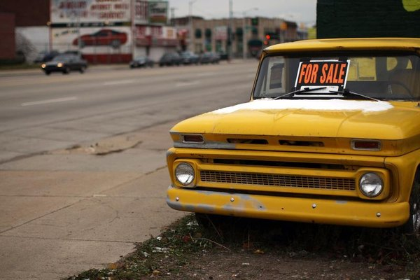 Vintage Chevy Truck For