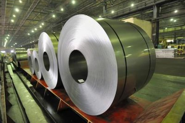 Large roll of steel.