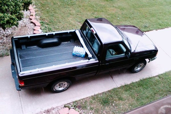 A bed-liner can protect a truck from scratches or dents that comes from hauling cargo