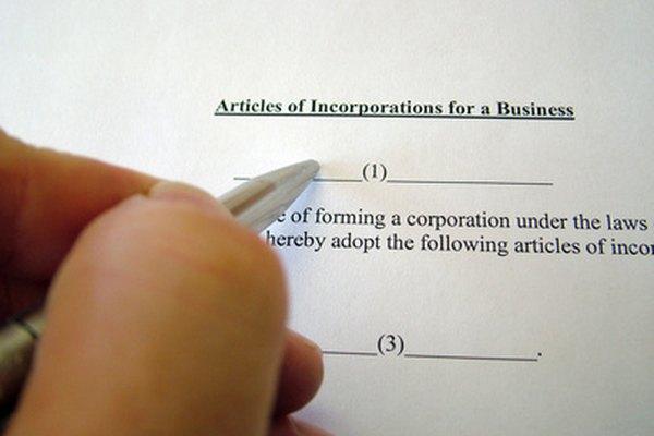 Los ejemplos de los diferentes tipos de entidades de empresas.