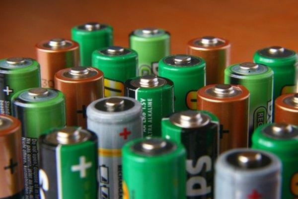Las celdas galvánicas son una especie de batería electroquímica.