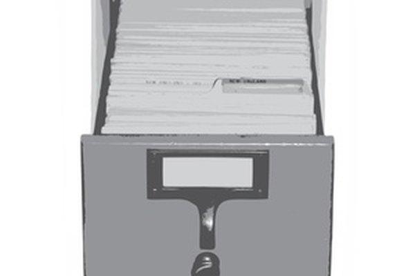 Iniciar un sistema de archivo para una pequeña empresa comienza con la organización de sus documentos.