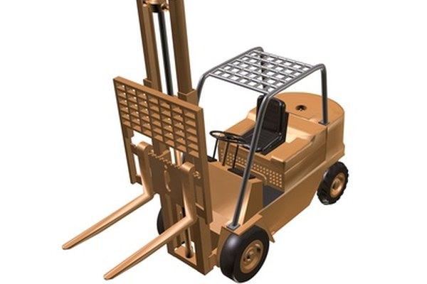 Los montacargas se utilizan para levantar y transportar materiales pesados.