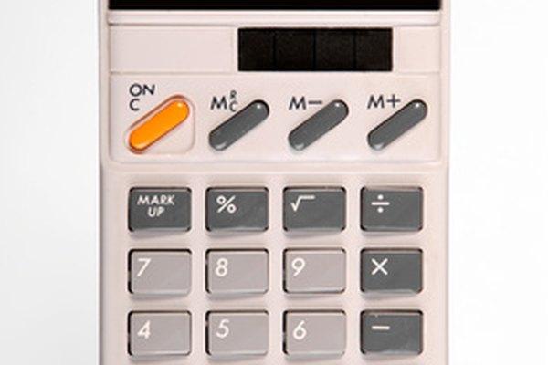 Los resultados precisos de una calculadora a menudo se redondean hacia arriba o hacia abajo por simplicidad.
