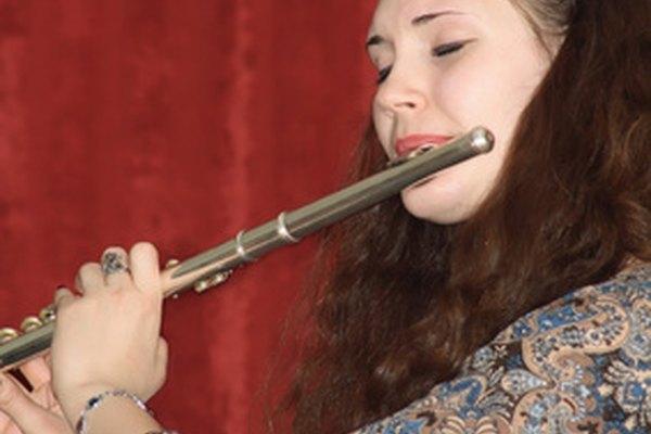 Pulir el exterior de la flauta mantendrá su acabado como nuevo.