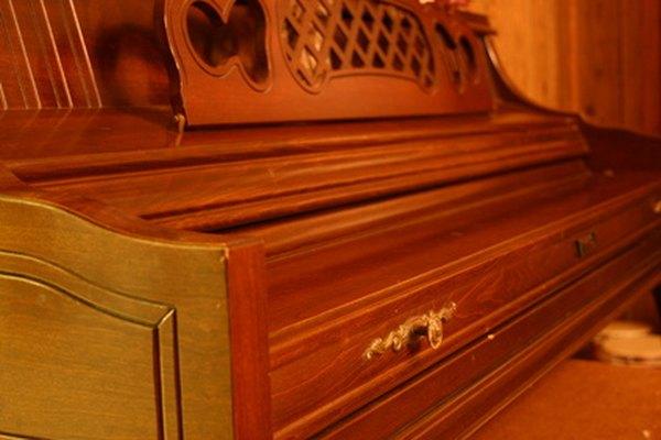 El piano spineta.