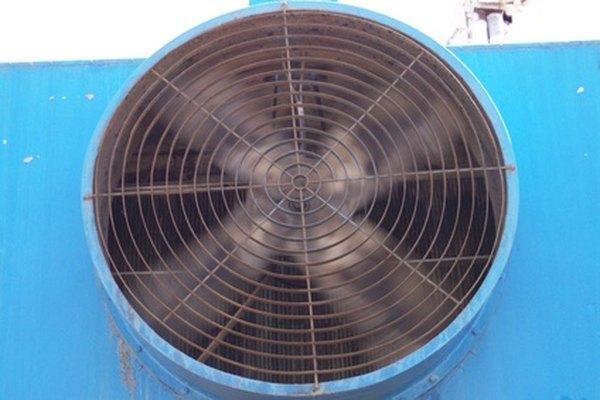 Las guardias sobre el ventilador ralentizan el flujo de aire.