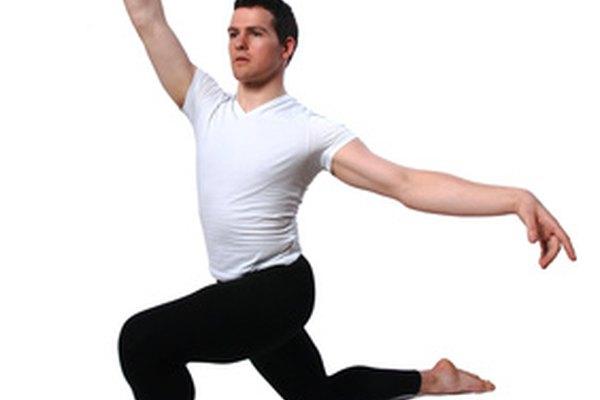 Los bailarines de ballet necesitan fuerza y control.