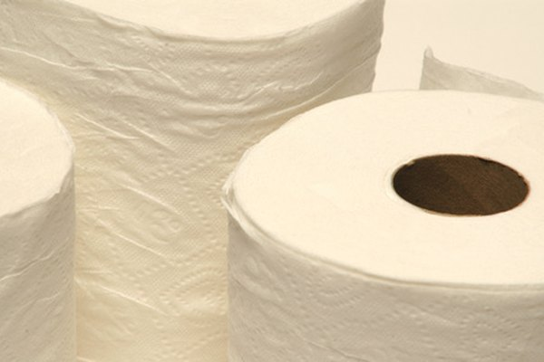 Haz que vuele el papel higiénico.