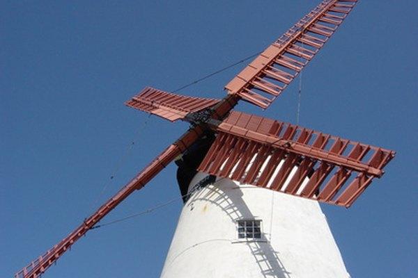 Los modelos de los molinos de viento pueden enseñarnos muchas cosas acerca de estas importantes estructuras.