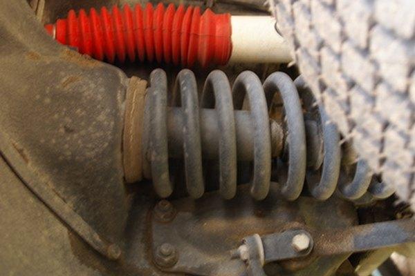 El resorte helicoidal es el más usado en las suspensiones modernas.