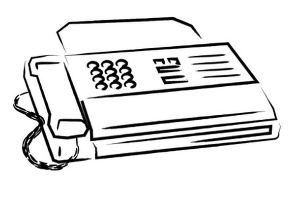 Clean your thermal fax machine regularly to improve print quality.