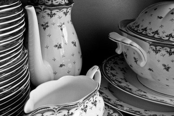 Transforma la porcelana en objetos nuevos.
