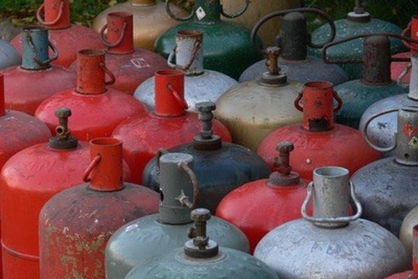 Tanques de gas propano.