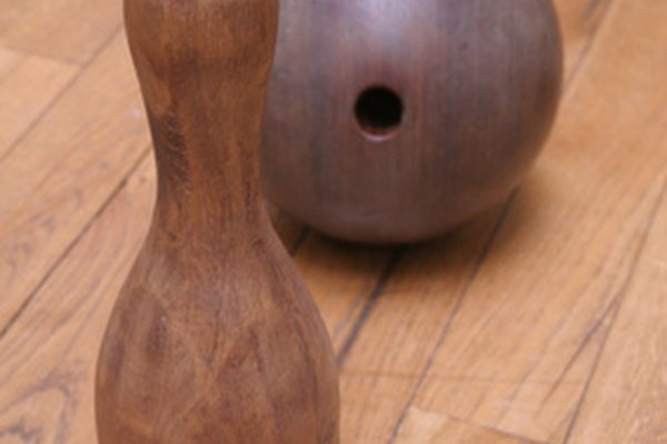El caucho vulcanizado se utiliza en la fabricación de las bolas de boliche.
