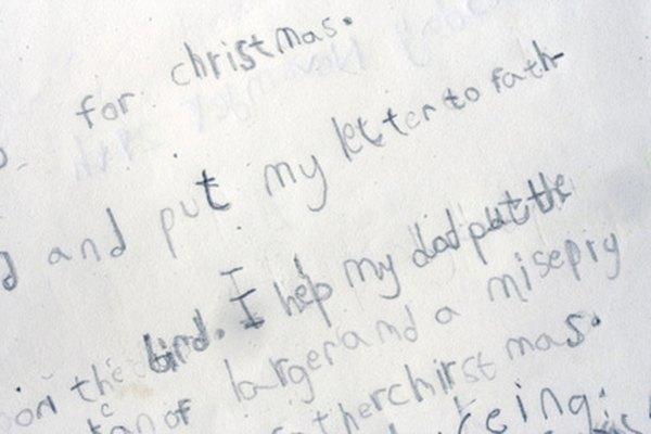 Una carta dice mucho sobre quien la escribe.