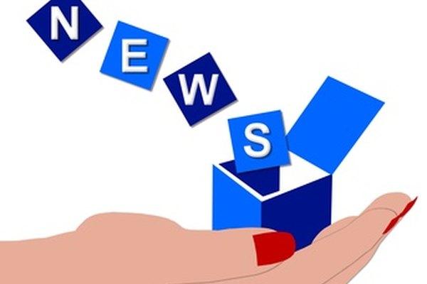 Un proyecto de boletín de noticias sirve para enseñar a los alumnos a usar un programa procesador de texto.