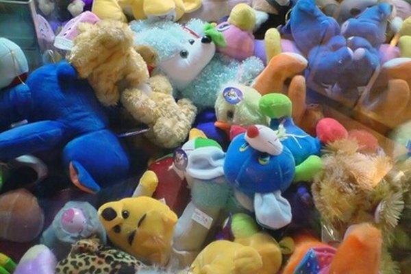 Los juguetes de los niños a menudo se comercializan con una fuerte estrategia de promoción de atracción.