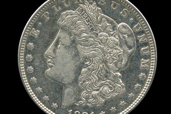Un dólar de plata Morgan de 1921 es un 90% de plata.