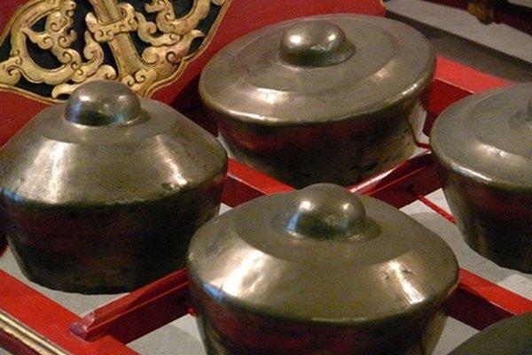 El gamelan es la base de la música tradicional de Indonesia.