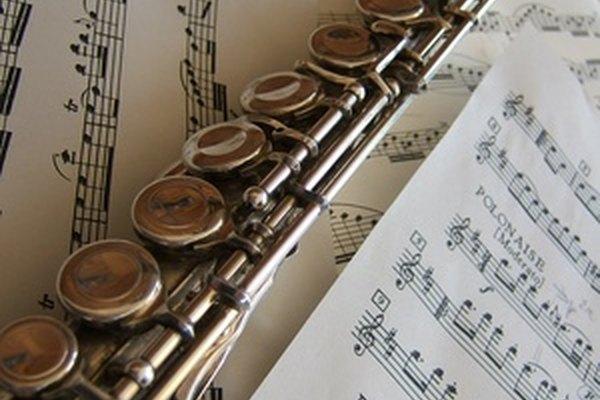 Como las flautas están hechas de plata, pueden opacarse con facilidad.