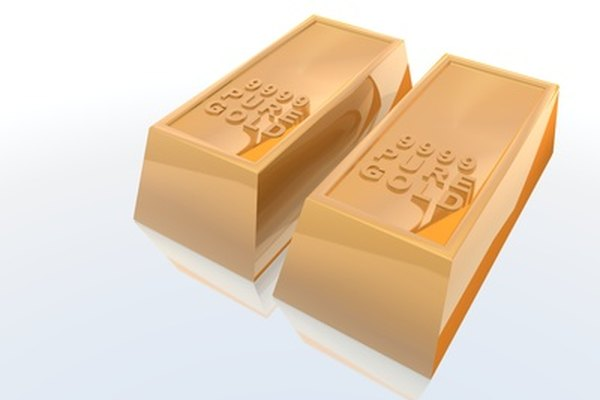 El oro puro es uno de los elementos más densos en la tabla periódica.