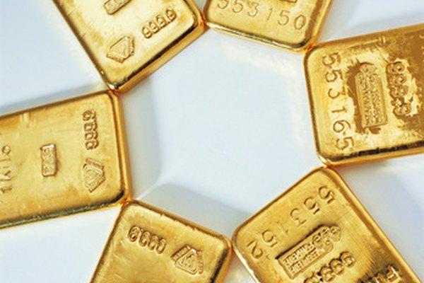 Haz una mezcla para realizar un chapado en oro.