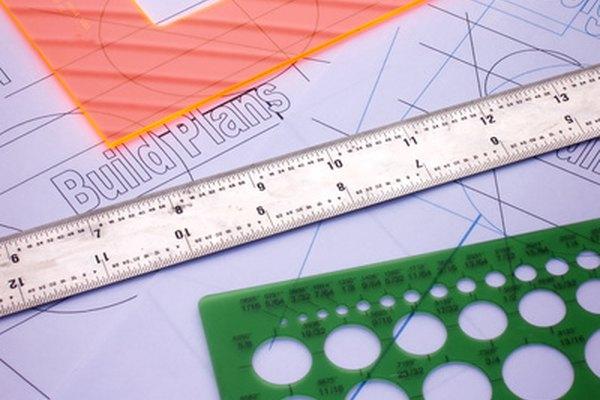Las herramientas proveen una forma precisa de crear dibujos técnicos precisos.