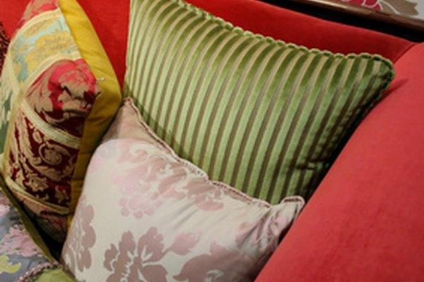Los almohadones son una buena opción para cambiar la apariencia de una habitación.