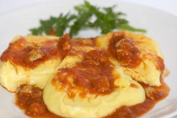 Los platos más tradicionales de harina de maíz en el norte de Italia incluyen también alforfón, también libre de gluten.