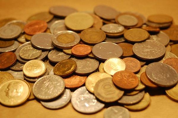 Ten cuidado al limpiar las monedas antiguas.