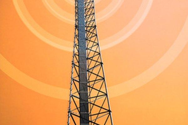 Definición de las señales de radio por microondas.