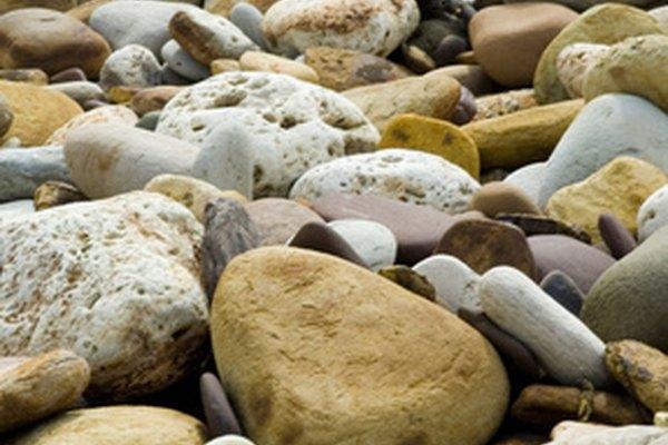 Las rocas usualmente tienen colores neutrales, pero tienen un amplio rango de variaciones sutiles.