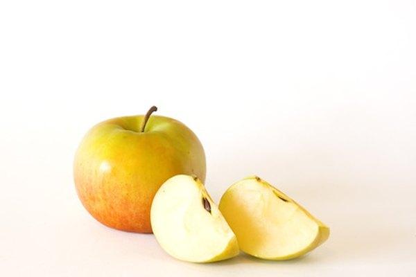En la mitología, una manzana dorada disparó la guerra de Troya.