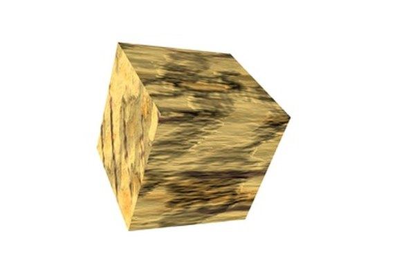 Un cubo Rubik estilístico.